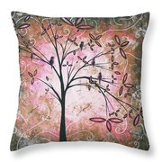Vintage Couture By Madart Throw Pillow