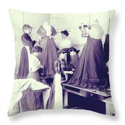 Vintage Dressmakers Throw Pillow