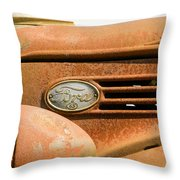 Vintage Ford Truck Throw Pillow