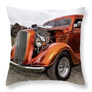 Vintage Ford Truck Rod Throw Pillow