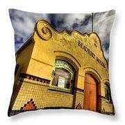Vintage Gem Throw Pillow