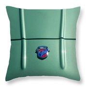 Vintage Ghia Emblem Throw Pillow