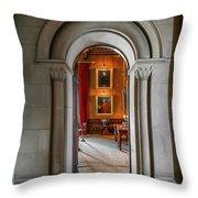 Vintage Hall Throw Pillow