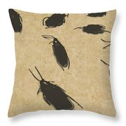 Vintage Infestation Throw Pillow by Jorgo Photography - Wall Art Gallery