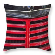 Vintage International Truck Throw Pillow