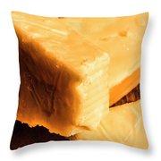 Vintage Italian Cheeses Throw Pillow