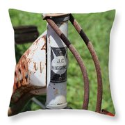 Vintage J C Higgins Bicycle Throw Pillow