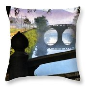 Vintage Japanese Art 15 Throw Pillow