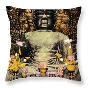 Vintage Japanese Art 24 Throw Pillow