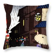 Vintage Japanese Art 26 Throw Pillow