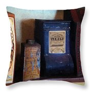 Vintage Kitchen Magick Throw Pillow