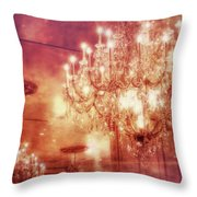 Vintage Light Throw Pillow