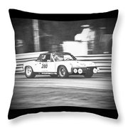 Vintage Look Throw Pillow