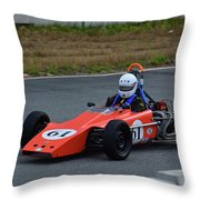 Vintage Lotus 61 Throw Pillow