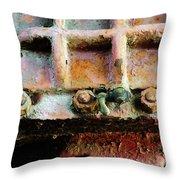 Vintage Machinery 3 Throw Pillow