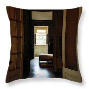 Vintage Mansion Havana Cuba II Throw Pillow