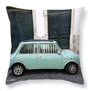 Vintage Mini Minor Throw Pillow