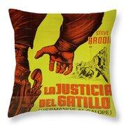 Vintage Movie Poster 1 Throw Pillow