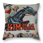 Vintage Movie Poster 4 Throw Pillow
