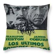 Vintage Movie Poster 6 Throw Pillow