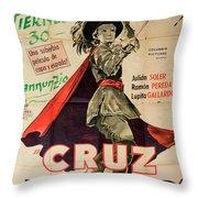 Vintage Movie Poster 7 Throw Pillow