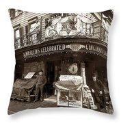 Vintage New York City Throw Pillow