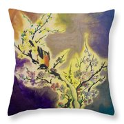 Vintage One Throw Pillow