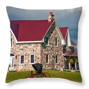 Vintage Ontario Throw Pillow