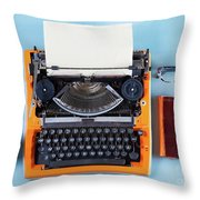 Everything In Order Throw Pillow