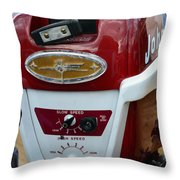 Vintage Outboard 6 Throw Pillow