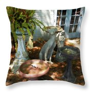 Vintage Outdoor Decor Throw Pillow