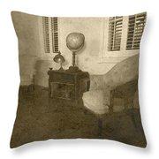 Vintage Photograph Farmhouse Interior Throw Pillow
