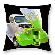 Vintage Pickup Throw Pillow
