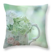 Vintage Pitcher Throw Pillow