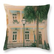Vintage Poogans Porch Throw Pillow