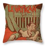 Vintage Poster - Vatican Galantara Throw Pillow