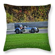 Vintage Racer 61 Throw Pillow