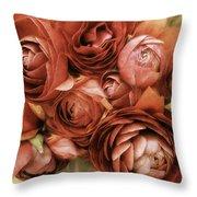 Vintage Spring Throw Pillow