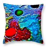 Vintage Strainer Two Throw Pillow