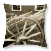 Vintage Tableau Throw Pillow