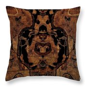 Vintage Tapestry Throw Pillow