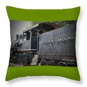 Vintage Train Throw Pillow