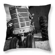 Vintage Workhorse - Farmall Throw Pillow