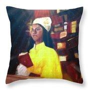 Vintage Worship Throw Pillow