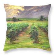 Vinyard Throw Pillow