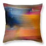 Violent Colours Throw Pillow