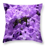 Violet Dream II Throw Pillow