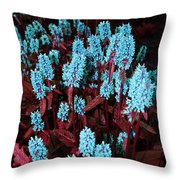 Violet Dream Throw Pillow