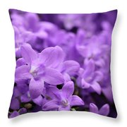 Violet Dream V Throw Pillow