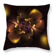 Violet For Daddy Throw Pillow